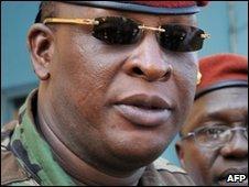 Gen Sekouba Konate, Guinean interim leader (file image)