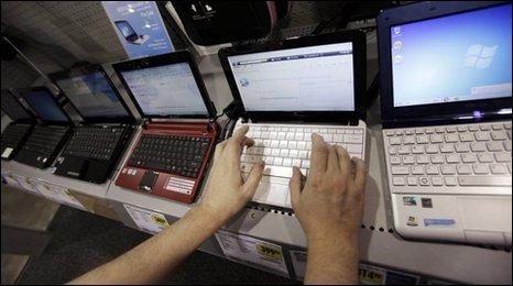 Netbooks on sale, AP