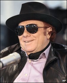Singer Van Morrison has become a father again