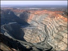 Gold mine in Kalgoorlie, Western Australia