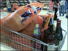 shopping boom