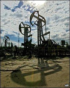 Yukos oil near Tyumen, western Siberia, Russia, file pic 2003