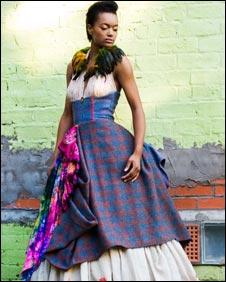 Dress designed by Judy R Clark