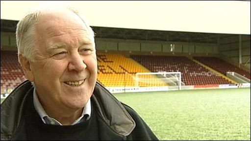 Motherwell interim manager Craig Brown