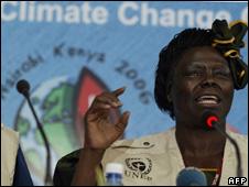 Wangari Maathai (Image: AFP)