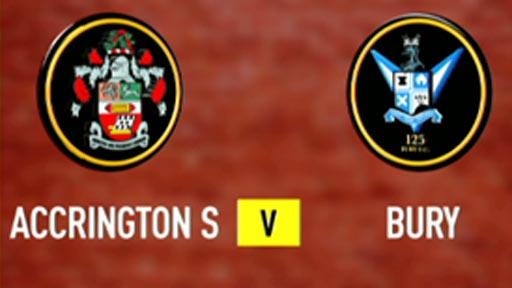 Accrington Stanley 2-4 Bury