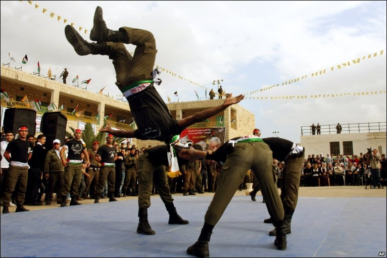 Palestinian security officers, Jenin