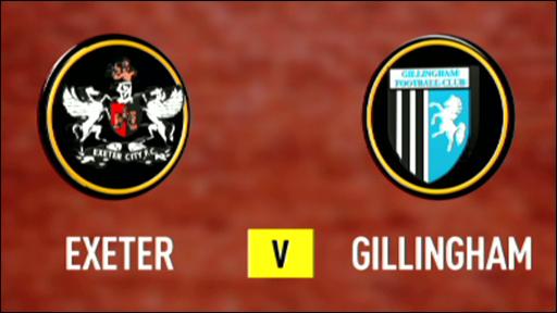 Exeter 1-1 Gillingham