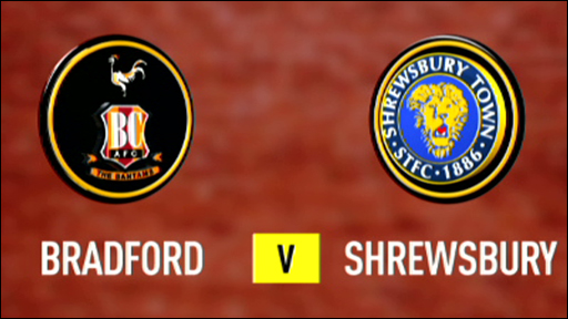 Bradford v Shrewsbury