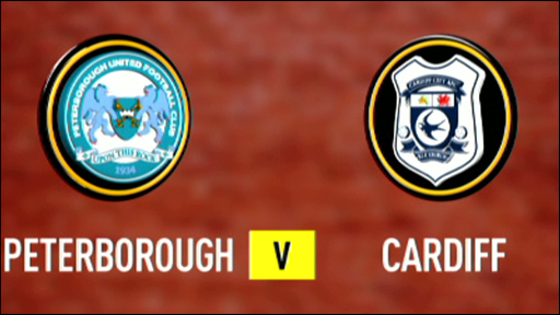 Peterborough v Cardiff