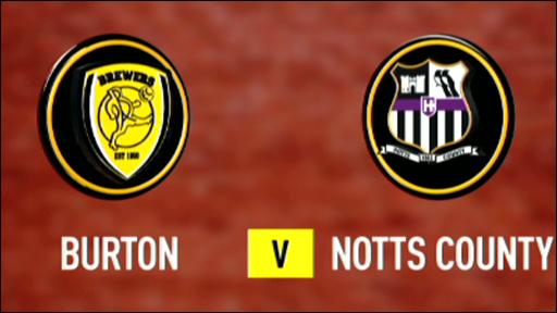 Burton Albion v Notts County