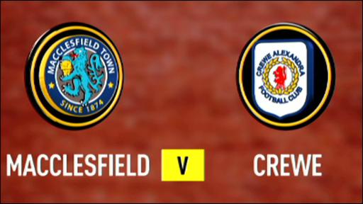 Macclesfield 4-1 Crewe