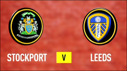 Stockport 2-4 Leeds