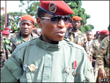 Guinea's coup leader Captain Moussa Dadis Camara
