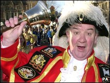 London town crier Peter Moore