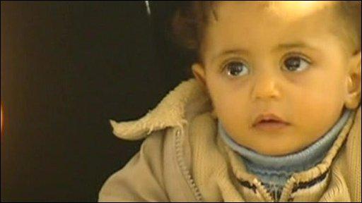 Baby in Gaza