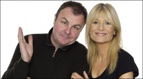 Gaby Roslin and Paul Ross