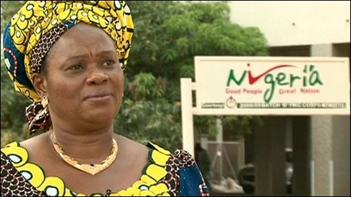 Nigeria's Minister of Information and Communications, Akunyili Dora