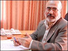 Economy Minister Ziad Zaza, from Hamas administration in Gaza