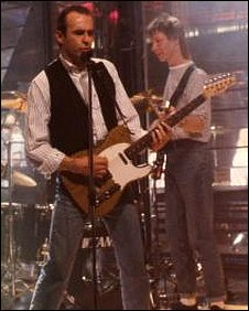 Francis Rossi on Top of the Pops in 1988