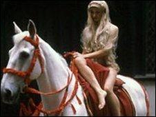 Pru Poretta in the 1982 pageant