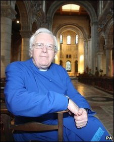 Dean Houston McKelvey in St Annes Cathedral , Belfast