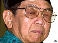 Former Indonesian president Wahid