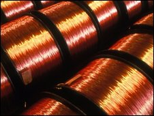Copper coils