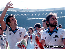 Trevor Brooking and Frank Lampard