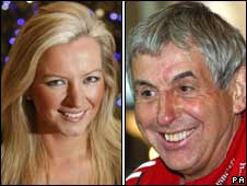 Michelle Mone and Ian McGeechan