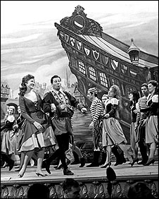 A scene from Dick Whittington in a 1963 production