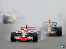 British Grand Prix at Silverstone in 2008