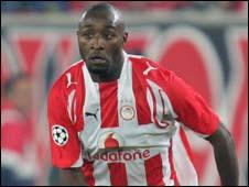 DR Congo striker Lomana LuaLua