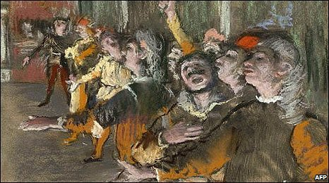 The Chorus by Edgar Degas