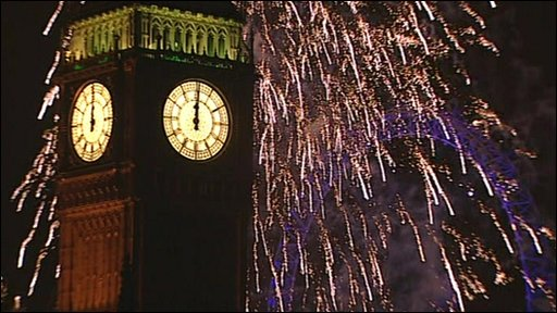 London's firework display