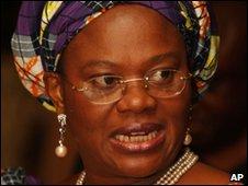 Nigerian Information Minister Dora Akunyili