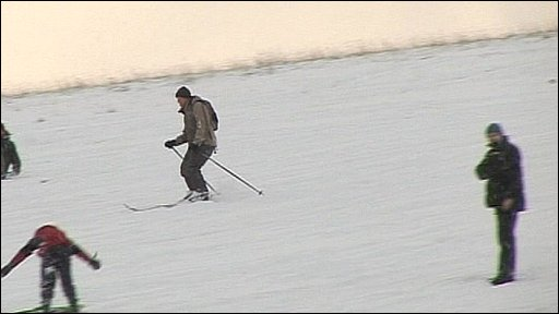 Skiing in Newcastle