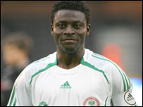 Nigeria striler Obafemi Martins