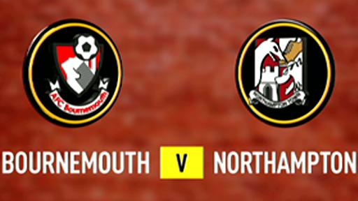 Bournemouth 0 - 2 Northampton