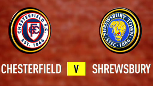 Chesterfield 0-1 Shrewsbury Town (UK only)