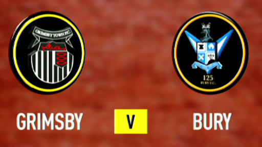 Grimsby 1-1 Bury (UK only)