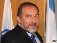 Israeli Foreign Minister Avigdor Lieberman (image from 9 December)