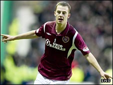 Hearts forward Gordon Smith