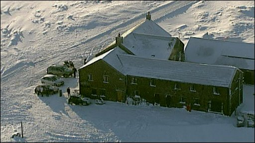 Pub snowed in