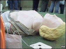 Resuscitation manikin
