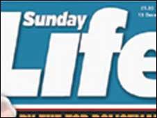 Sunday Life masthead