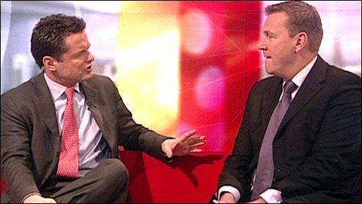 Graham Poll - BBC Breakfast
