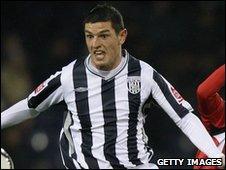 West Bromwich Albion midfielder Graham Dorrans