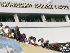 Lagos Airport, file image