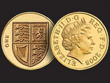 2008 pound coin